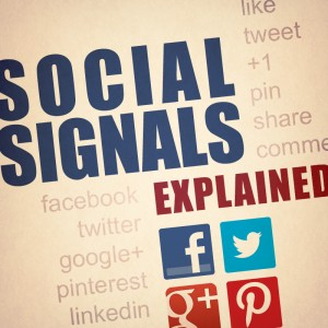 What are social signals?