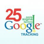 social signals Google is tracking - factors and optimization
