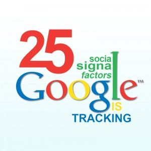 social signals Google is tracking - factors and optimization