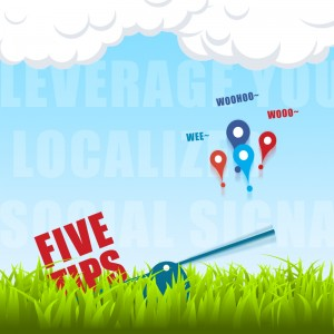 Leveraging on Localised Social Signals