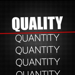 Quality Trumps Quantity in Social Media Marketing