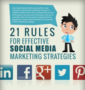 Effective Social Media Marketing Rules