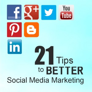 Social Media Tips For Online Marketing