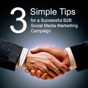 Tips to successful B2B social media marketing campaign.