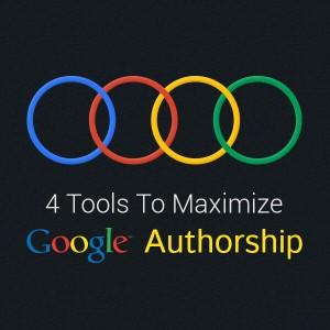 Tools to maximize Google Authorship